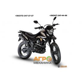 Мотоцикл LONCIN LX200GY-3 PRUSS (чёрный)