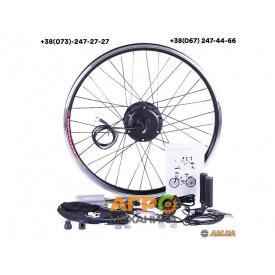 Электронабор 36V 350W для велосипеда (колесо переднее 27.5, с дисплеем)
