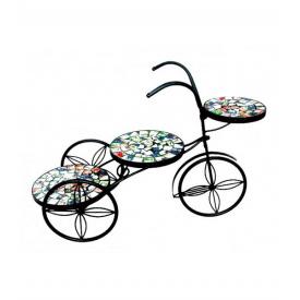 Подставка для цветов Велосипед Engard Радуга