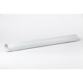 Водосточная труба Plannja 125/90 3 м белая