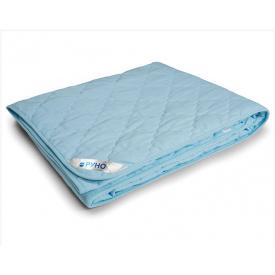 Одеяло силиконовое Руно Легкость евро двуспальное голубое 200x220 см
