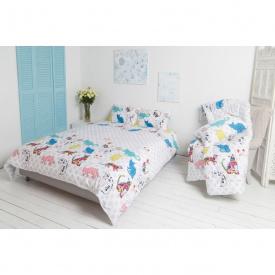 Комплект постельного белья Руно сатин Cat евро