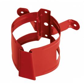 Хомут водосточной трубы Bilka 90 мм красный (RAL 3011)