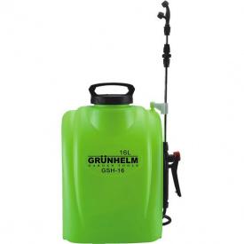 Обприскувач акуммуляторный Grunhelm GHS-16