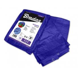 Тент Bradas STANDARD тарпаулін 50 г/м2 6х8 м синій PLL6/8