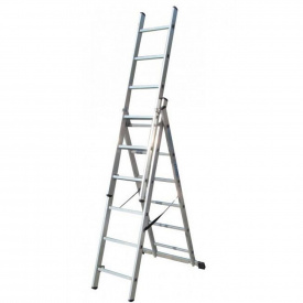 Лестница 3-х секционная раскладная ELKOP VHR TS 3x6
