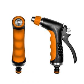 Пистолет для полива Bradas HOBBY металлический з регулированием ECO-2046