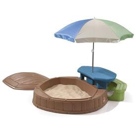 Детский игровой комплекс с песочницей и столом SUMMERTIME PLAY CENTER 169x145x178 см