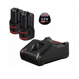 Набор 2 аккумулятора BOSCH GBA 12V+зарядное устройство BOSCH GAL 12V-40 (1600A019R8)