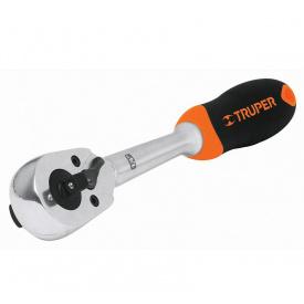 Ключ трещотки TRUPER двойной 3/8 1/4 130мм Cr-Mo (M-1438)