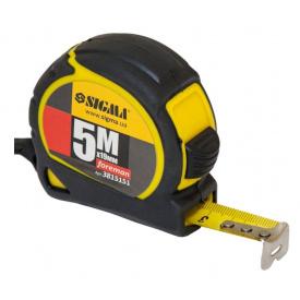 Рулетка Sigma Foreman 5мх19мм (3815151)