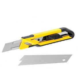 Нож STANLEY Comfort с выдвижным лезвием 18 мм 3 лезвия упак 12 шт (STHT10266-1)