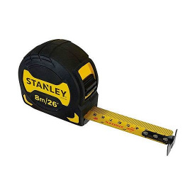 Рулетка STANLEY GripTape 8мx28мм (STHT0-33569)
