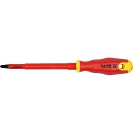 Отвертка крестовая YATO диэлектрическая PH3x150мм VDE до 1000V (YT-2824)