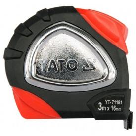 Рулетка YATO 3мx16мм DW (YT-71181)