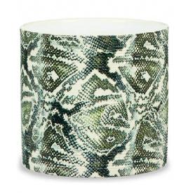 Кашпо для цветов Scheurich Inspiration 3,95л керамическое рептилия