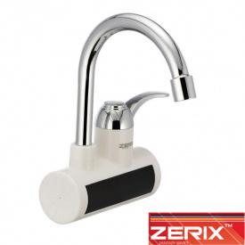 Электрический проточный водонагреватель Zerix ELW 021W от стены 3 кВт