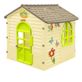 Дитячий ігровий будиночок пластиковий садовий Mochtoys 11558
