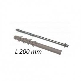 Крепления для держателя трубы Акведук камень 200мм