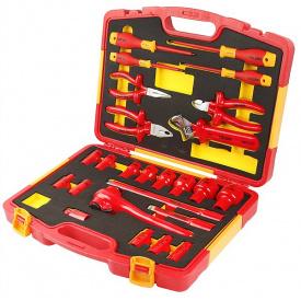 Комплект диэлектрических инструментов Tolsen 25 предметов (V83825)