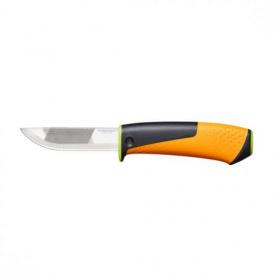 Нож Fiskars с точилом для тяжелых работ StaySharp (1023619)