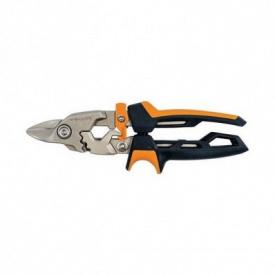 Ножницы Fiskars для металла с коротким лезвием PowerGear (1027212)