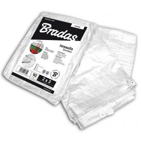 Тент Bradas WHITE 3x5 м 90 г/м2 (PLW903/5)
