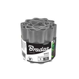 Бордюрная лента волнистая Bradas 9м х 15см (OBFGY 0915)