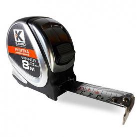 Рулетка Kapro з нержавіючим полотном 8мx27мм (609-08)