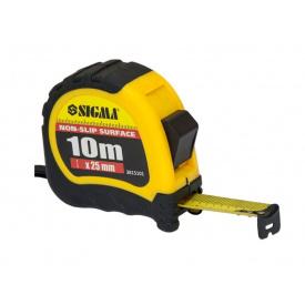 Рулетка Sigma Shiftlock 10мх25мм (3815101)