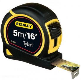 Рулетка STANLEY Tylon 5мx19мм метрическая + дюймовая (1-30-696)