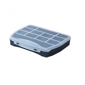 Органайзер пластиковый HAISSER Domino 25 с фиксированными секциями 250x200x44мм (90829)