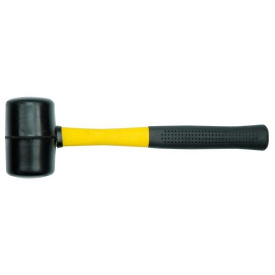 Молоток резиновый VOREL с стеклопластиковой ручкой (33555)