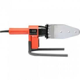 Паяльник для пайки PVC труб YATO 850Вт, d16-63мм с 7 адаптерами (YT-82250)