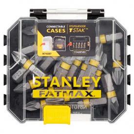 Набор бит STANLEY FatMax Pozidriv, Pz2, 25 мм, 20 шт пластиковый кейс (STA88568)
