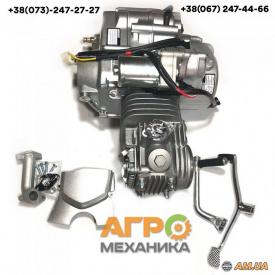 Двигатель на мопед Delta/Alpha/Active 125 сс автоматическое Слон (тюнинг)