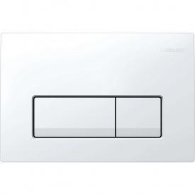 Delta 51 Смывная клавиша двойной смыв пластик белый GEBERIT 115.105.11.1
