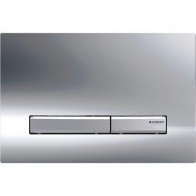 Смывная клавиша Geberit Sigma50 двойной смыв цвет металлический хромированный и хром глянцевый 115.788.21.2
