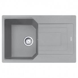 Мойка с сифоном гранит UBG 611-78 серый камень Franke 114.0574.944