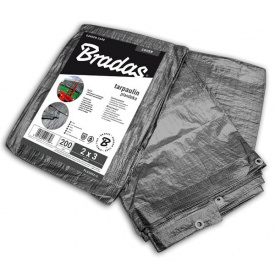 Тент Bradas GRAY 3x5 м 200 г/м2 (PLG2003/5)