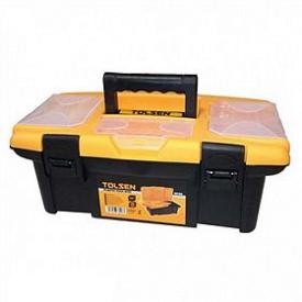 Ящик пластик Tolsen 34х18х13см 3 органайзера (80190)
