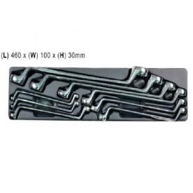 Набір ключів накидних Whirlpower 6-27мм 9 предметів (A-PB05)