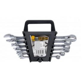 Ключи рожково-накидные VOREL М8-17мм 6шт (50850)