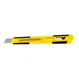 Нож STANLEY с выдвижным лезвием 9 мм (STHT10344-0)