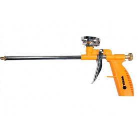 Пистолет для нанесения монтажной пены VOREL с аппликатором 300мм (09174)