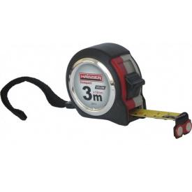 Рулетка HAISSER Compact 3мx19мм магнит (84379)
