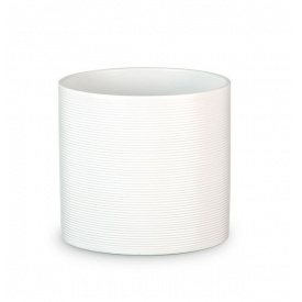 Кашпо для цветов Scheurich Inspiration 7,41л керамическое молочное
