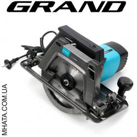 Пила дискова Grand ПД-210-2400 з функцією перевороту