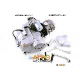 Двигатель на мопед Delta/Alpha/Active 110 cc механическое сцепление Слон