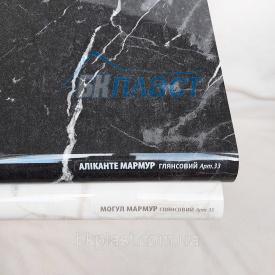 Подоконник PLASTOLIT Глянец аликанте мрамор 200